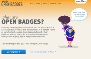 Open badges website